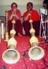 Recordings of the Tibetan folksinger Yang Du Tso @ The Flying Snowman Studio_3