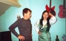 Recordings of the Tibetan folksinger Yang Du Tso @ The Flying Snowman Studio_9